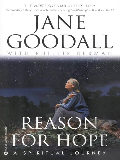 Title details for Reason for Hope by Jane Goodall - Wait list