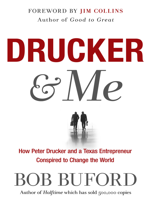 Title details for Drucker & Me by Bob Buford - Available