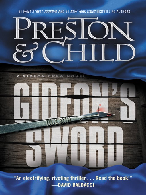 Title details for Gideon's Sword by Douglas Preston - Available