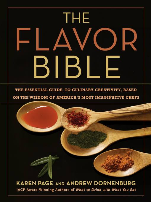 Title details for The Flavor Bible by Karen Page - Available