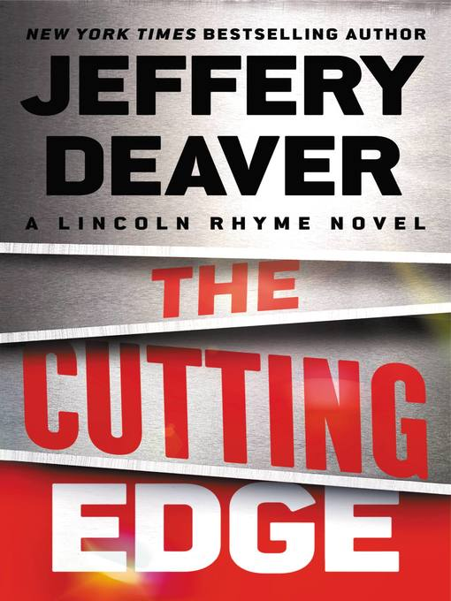 Title details for The Cutting Edge by Jeffery Deaver - Wait list