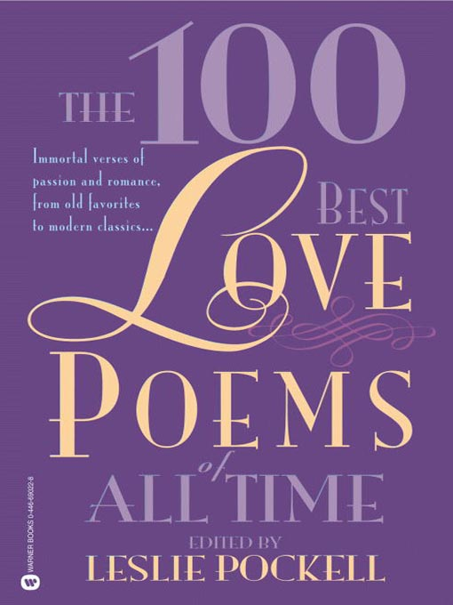 Cover of The 100 Best Love Poems of All Time