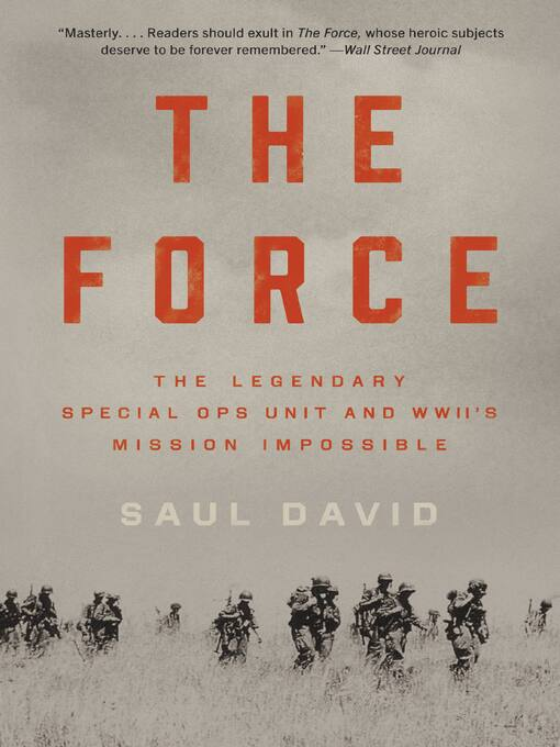 Title details for The Force by Saul David - Wait list