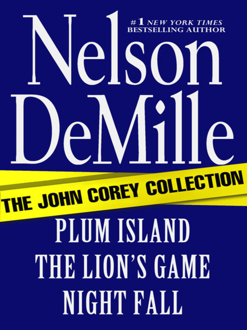 Title details for The John Corey Collection by Nelson DeMille - Wait list