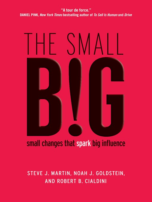 Title details for The small BIG by Steve J. Martin - Available