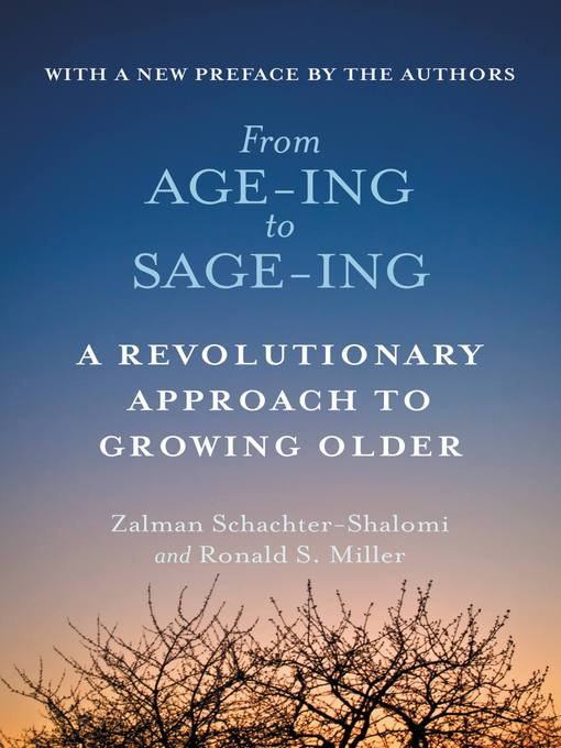 Cover of From Age-ing to Sage-ing