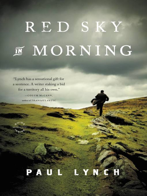 Title details for Red Sky in Morning by Paul Lynch - Available