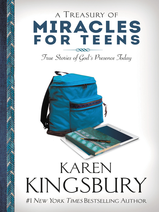 Cover image for A Treasury of Miracles for Teens