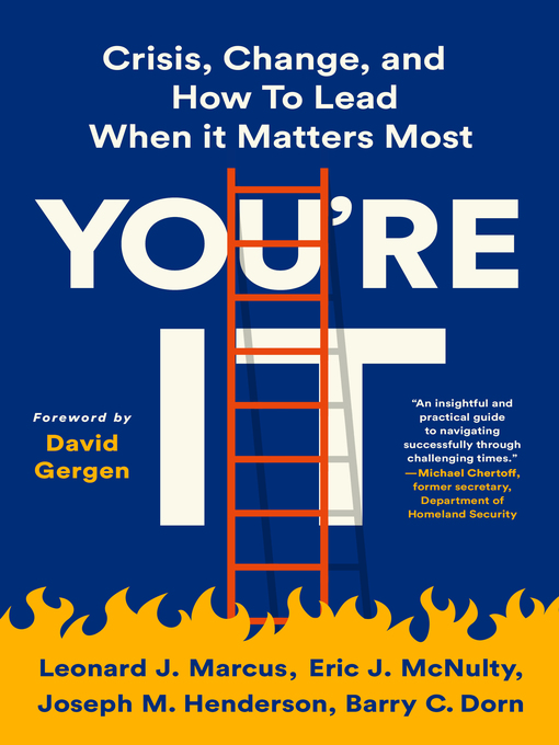 Title details for You're It by Leonard J. Marcus - Available