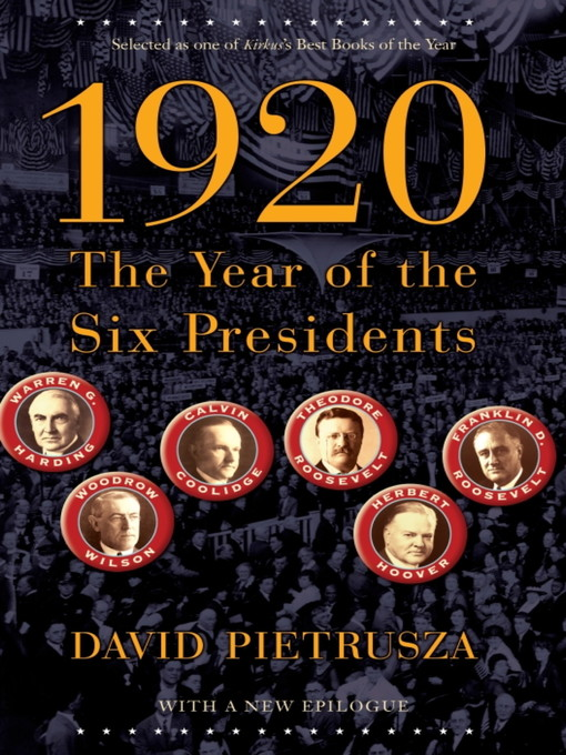 Title details for 1920 by David Pietrusza - Available