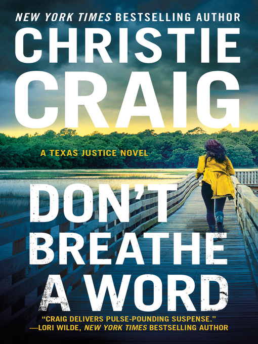 Title details for Don't Breathe a Word by Christie Craig - Available