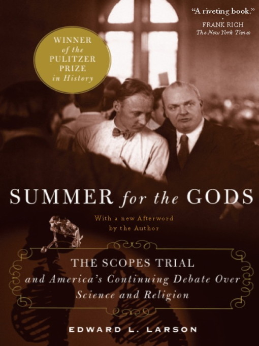Title details for Summer for the Gods by Edward J. Larson - Wait list