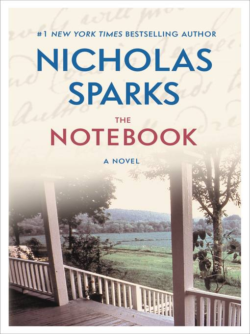 Title details for The Notebook by Nicholas Sparks - Wait list