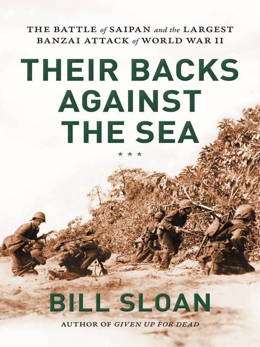 Cover of Their Backs against the Sea