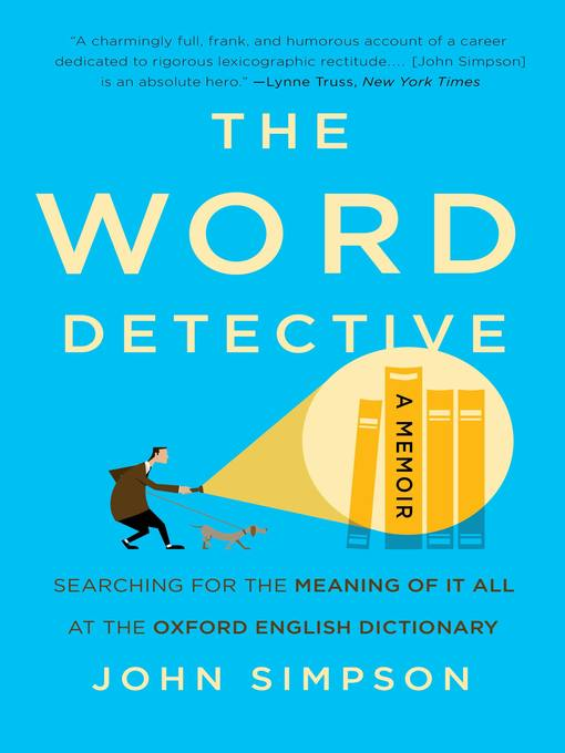 Title details for The Word Detective by John Simpson - Wait list