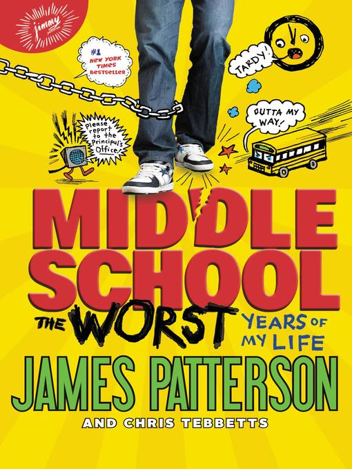 Cover of Middle School, the Worst Years of My Life