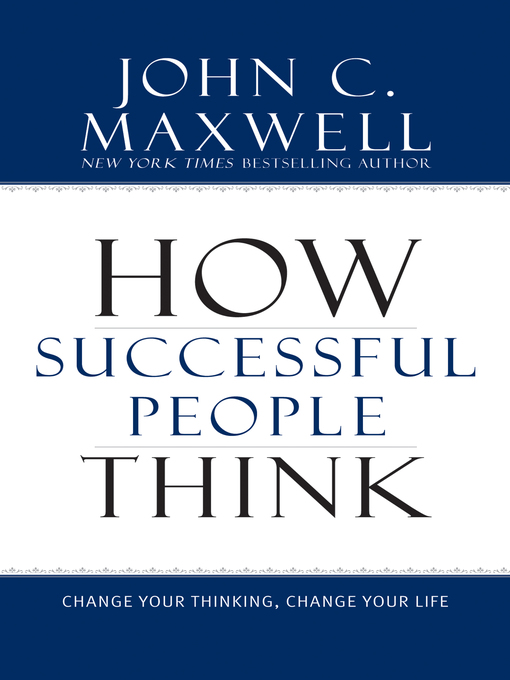 Cover of How Successful People Think