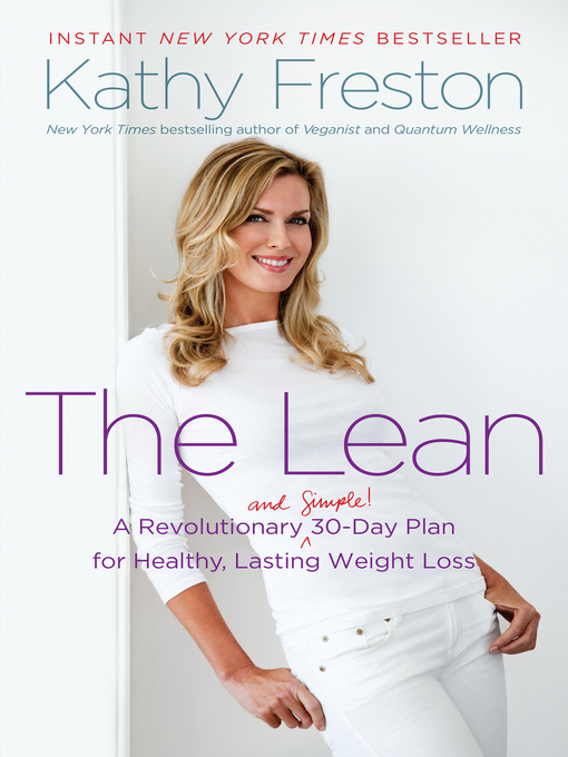 Title details for The Lean by Kathy Freston - Available
