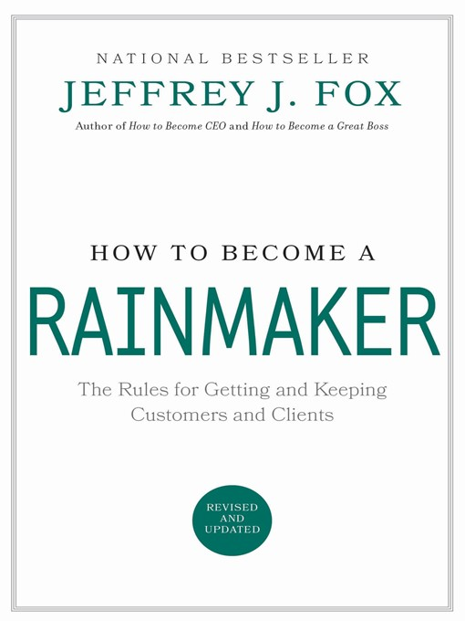 Cover of How to Become a Rainmaker