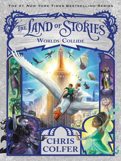 Cover of The Land of Stories--Worlds Collide