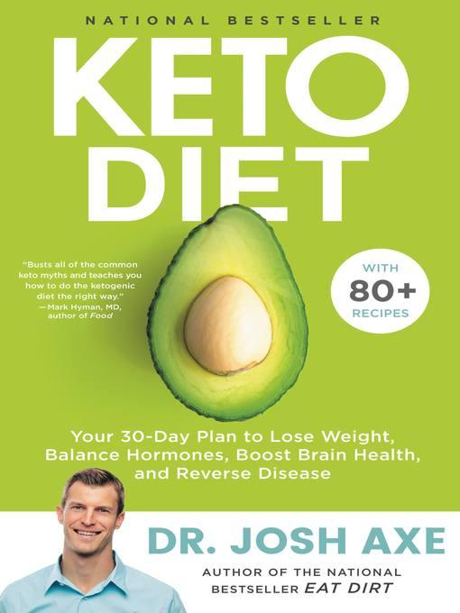 Title details for Keto Diet by Josh Axe - Wait list