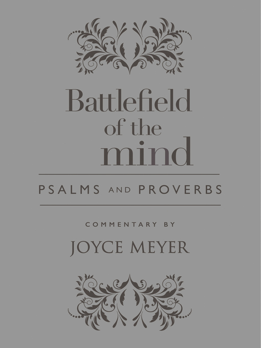 Title details for Battlefield of the Mind Psalms and Proverbs by Joyce Meyer - Available
