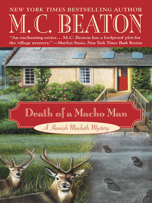 Title details for Death of a Macho Man by M. C. Beaton - Available