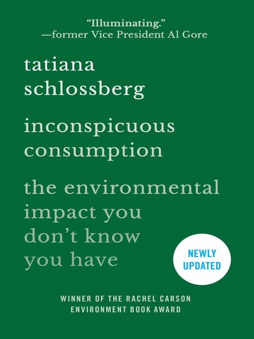 Title details for Inconspicuous Consumption by Tatiana Schlossberg - Available