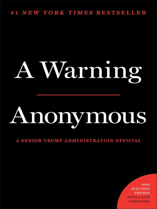 Title details for A Warning by Anonymous - Wait list