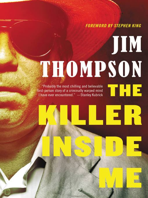Title details for The Killer Inside Me by Jim Thompson - Wait list