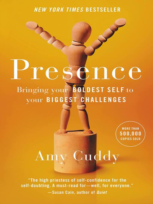Title details for Presence by Amy Cuddy - Wait list