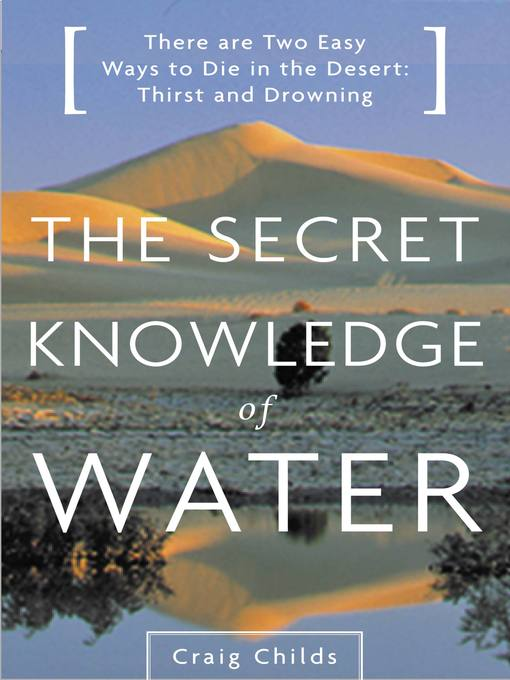 Cover of The Secret Knowledge of Water