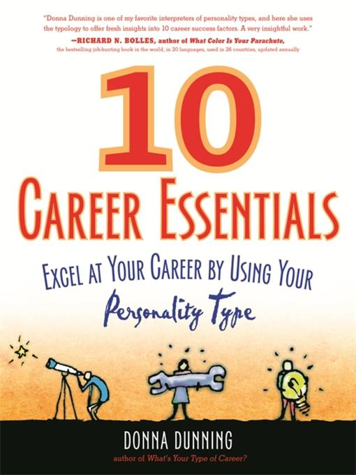 Title details for 10 Career Essentials by Donna Dunning - Available