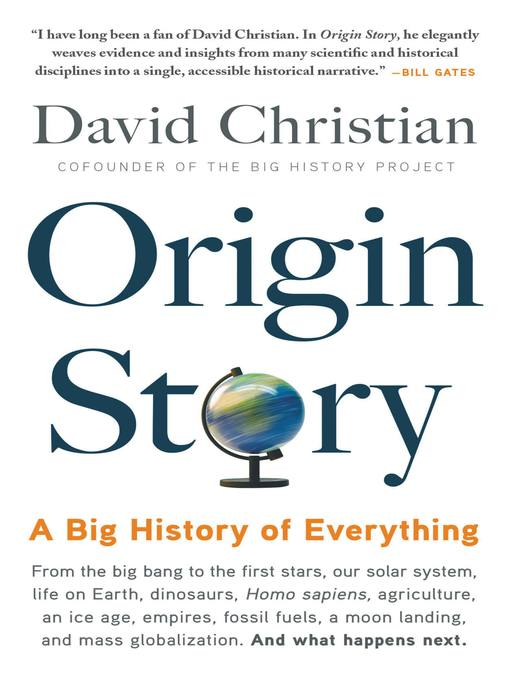 Title details for Origin Story by David Christian - Available
