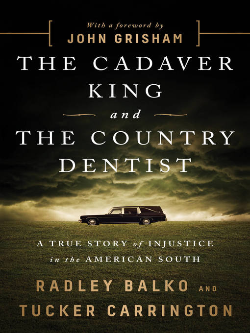 Cover of The Cadaver King and the Country Dentist