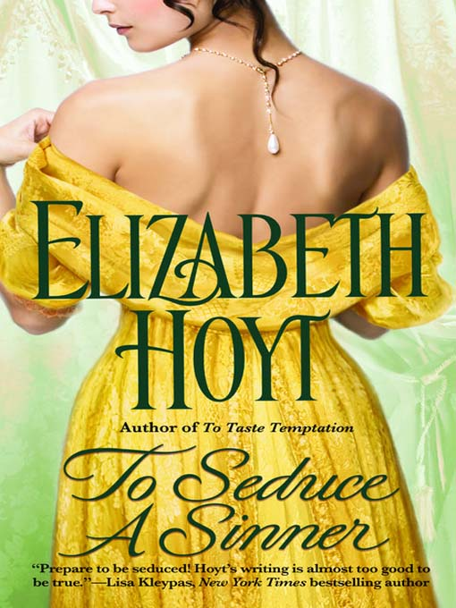 Title details for To Seduce a Sinner by Elizabeth Hoyt - Available