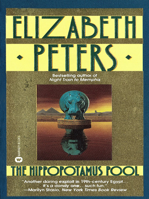 Title details for The Hippopotamus Pool by Elizabeth Peters - Available