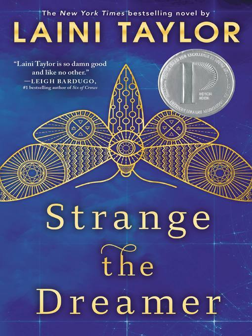 Cover of Strange the Dreamer