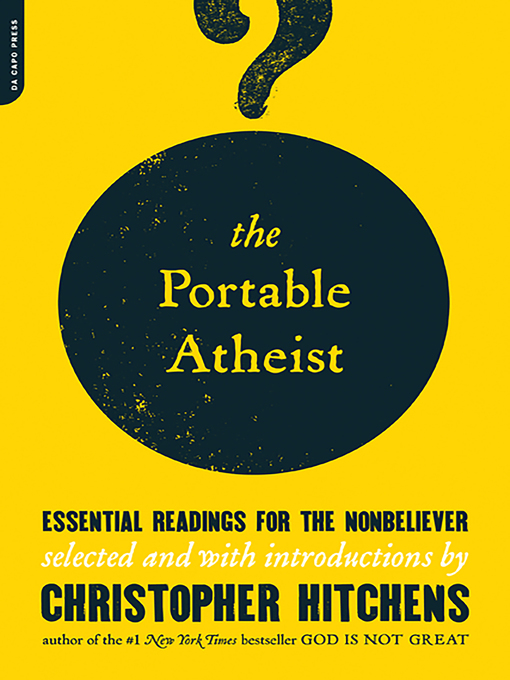 Title details for The Portable Atheist by Christopher Hitchens - Available