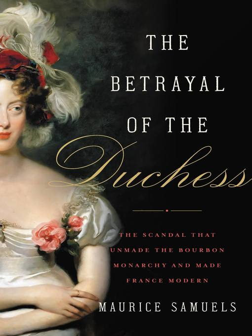 Cover of The Betrayal of the Duchess