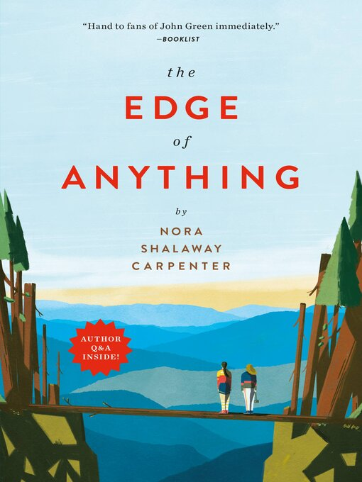 Title details for The Edge of Anything by Nora Shalaway Carpenter - Wait list
