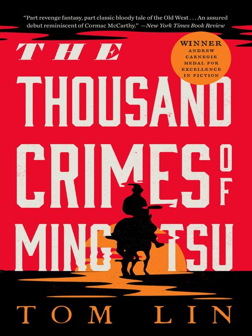 Title details for The Thousand Crimes of Ming Tsu by Tom Lin - Wait list