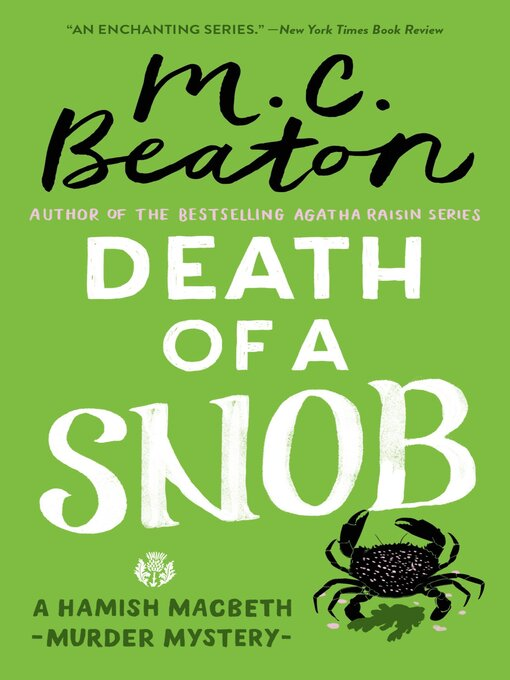 Title details for Death of a Snob by M. C. Beaton - Available