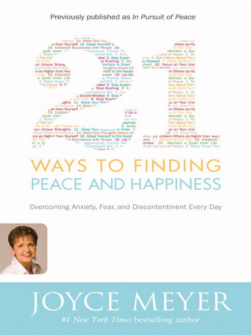 Title details for 21 Ways to Finding Peace and Happiness by Joyce Meyer - Available