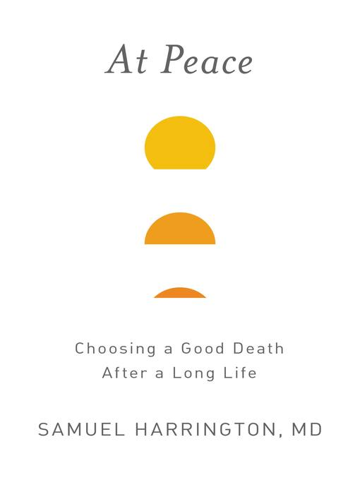 Title details for At Peace by Samuel Harrington - Available