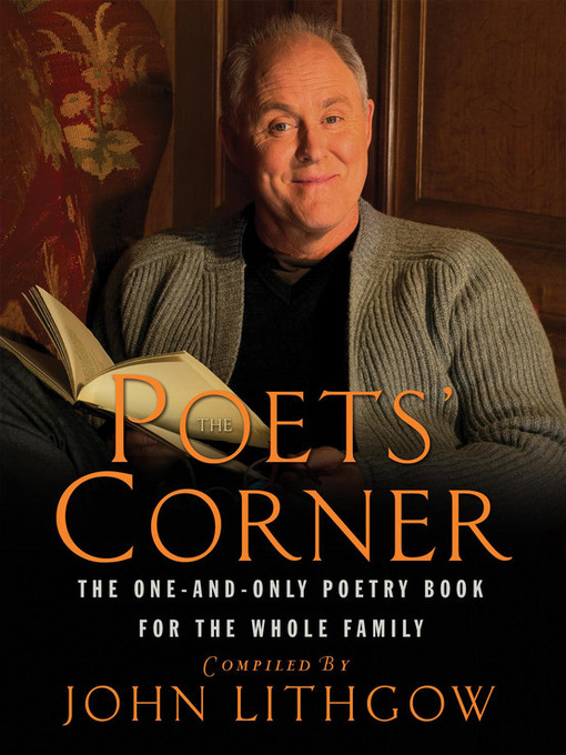 Title details for The Poets' Corner by John Lithgow - Wait list