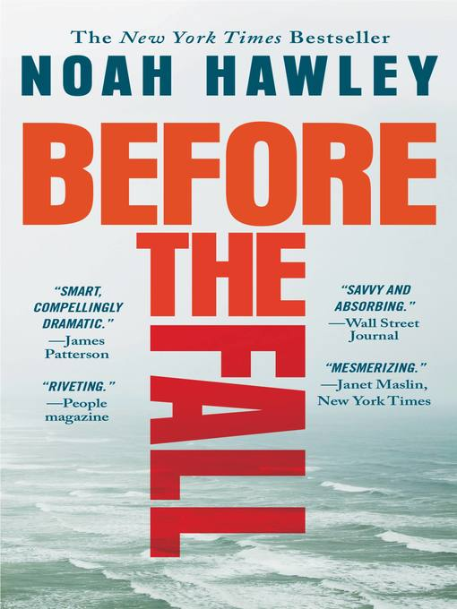 Title details for Before the Fall by Noah Hawley - Wait list
