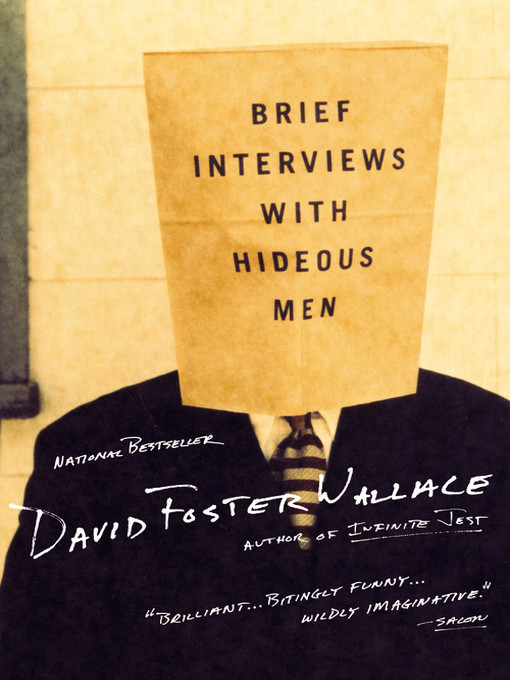 Cover of Brief Interviews with Hideous Men