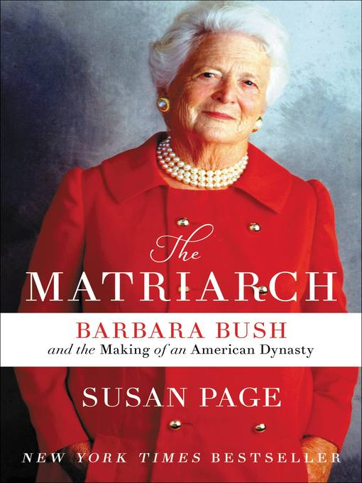 Title details for The Matriarch by Susan Page - Wait list