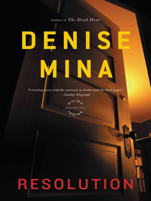 Title details for Resolution by Denise Mina - Available